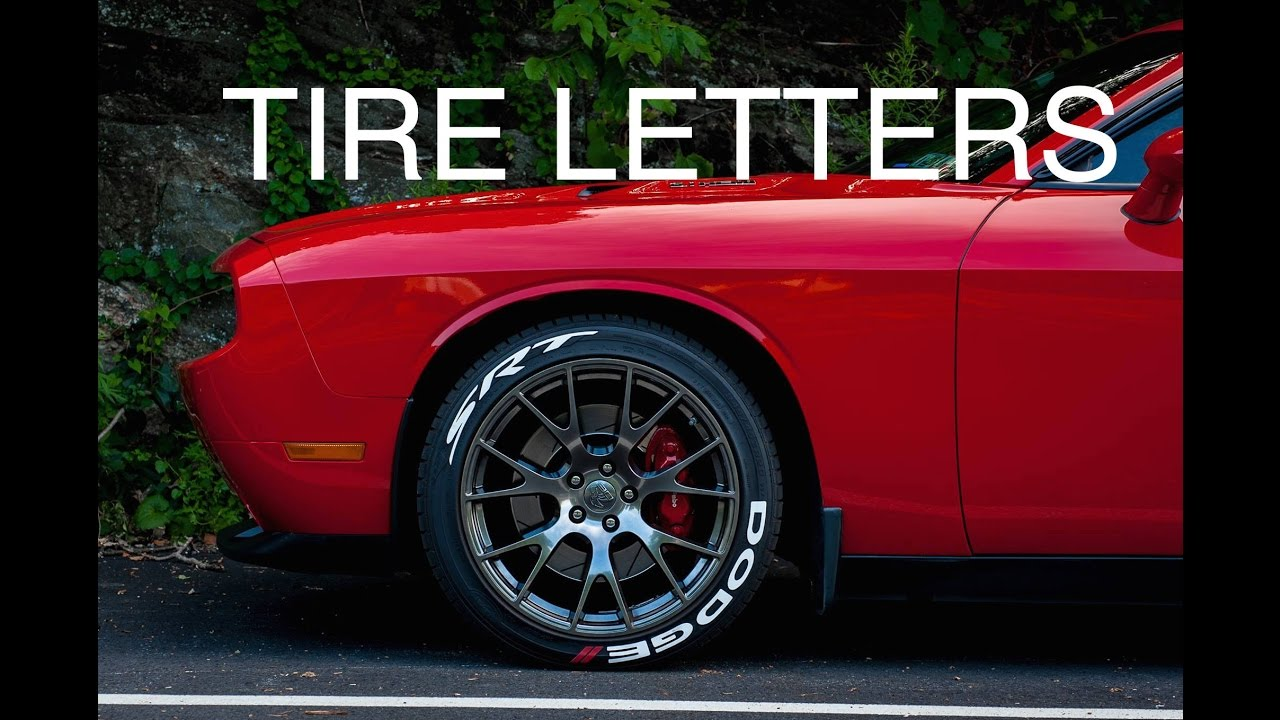 tires with red lettering installing tire letters 14061 | maxresdefault