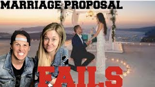 MARRIAGE PROPOSAL FAILS REACTIONS! | Shawn and Andrew