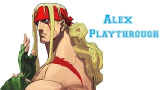 Street Fighter III: 3rd Strike - Alex Playthrough