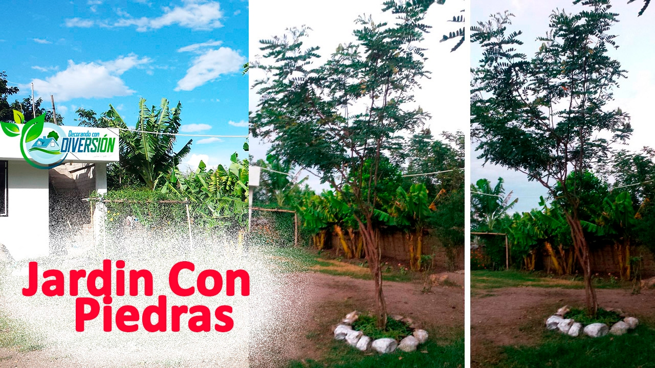 Como decorar un jardin con piedras youtube for Un jardin con enanitos