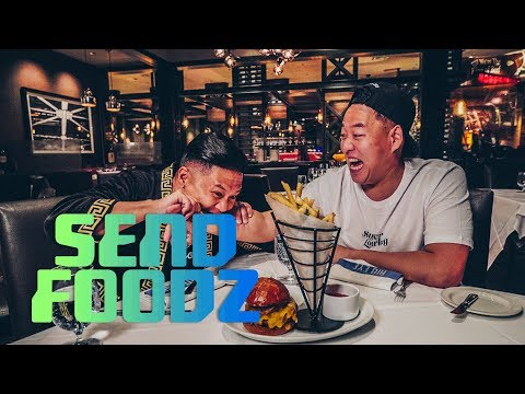 Caesars Palace: Send Foodz W/ Timothy DeLaGhetto & David So