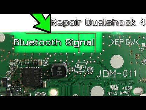 How to repair / redirect Dualshock 4 Bluetooth Signal