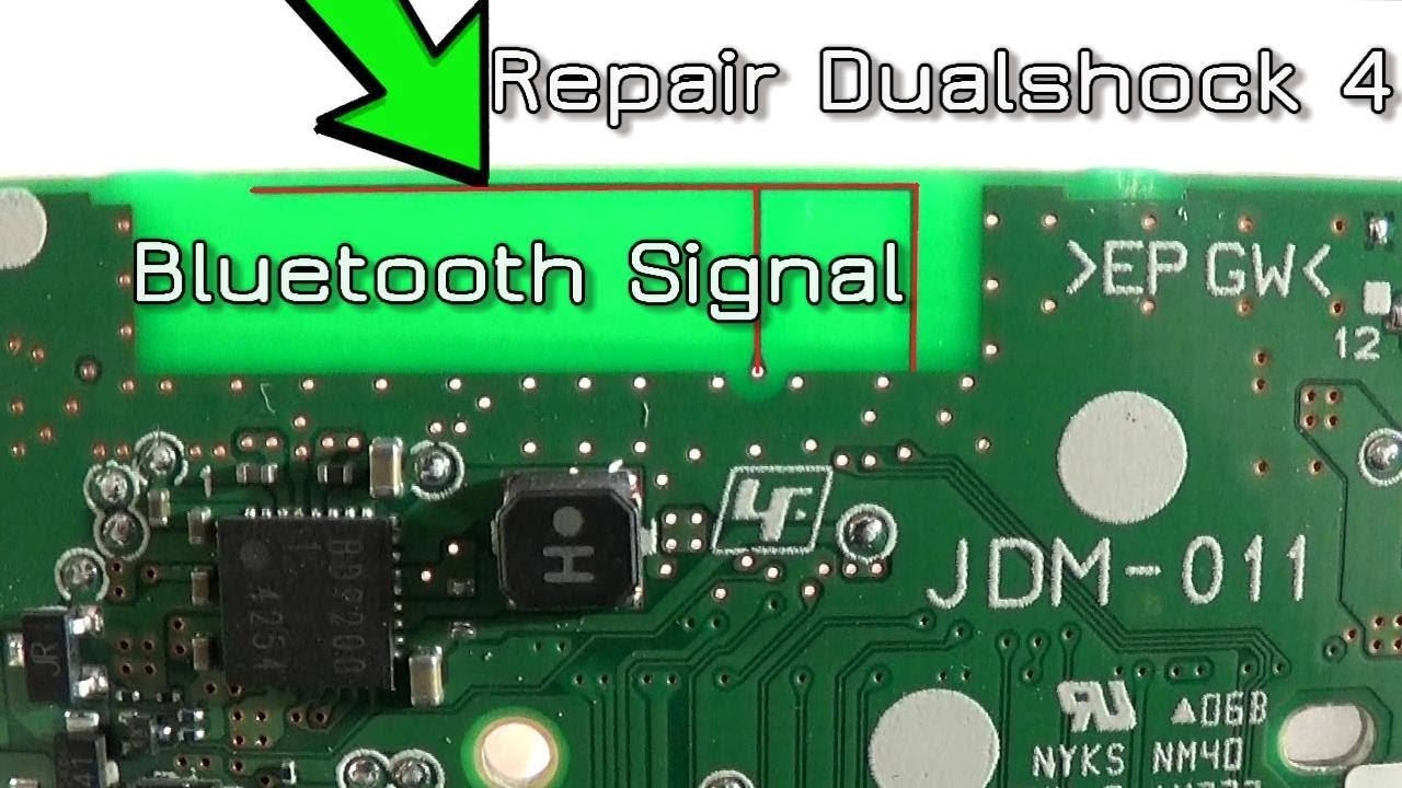 hight resolution of how to repair redirect dualshock 4 bluetooth signal