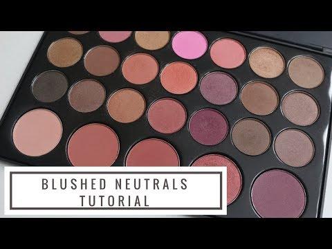 BH Cosmetics Blushed Neutrals Palette Tutorial!