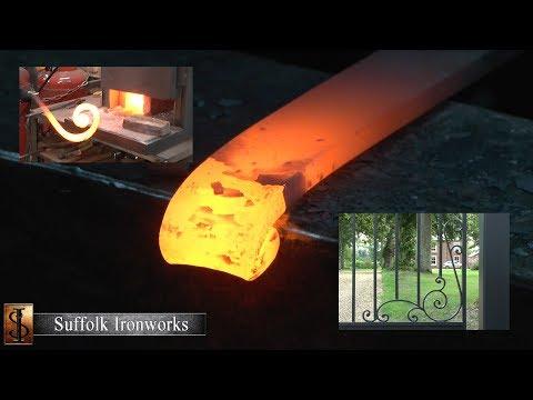 Suffolk Ironworks - Making Of Wrought Iron Gates