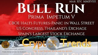 BullRun the wave cometh. CBOE Halts Futures Panic in [Wall Street], Congress & Crypto?