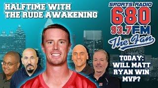 The Rude Awakening: Matt Ryan NFL 2017 League MVP?