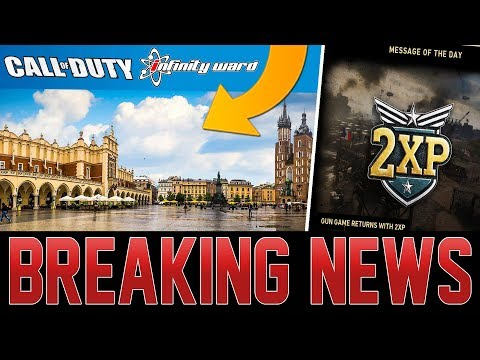 NEW CALL OF DUTY GAME STUDIO ANNOUNCED! GAME MODES ADDED! (Call of Duty WW2)