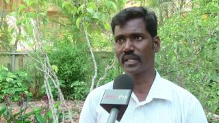 Jallikattu Protest - how police attacked him - struck the youth in the struggle Marina