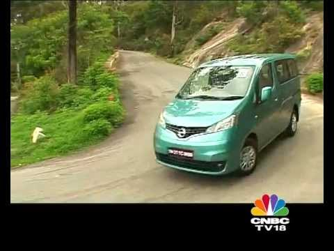 2012 Nissan Evalia in India first drive