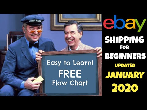 How to Ship on eBay for Beginners: FREE Flow Chart - Easy to Learn