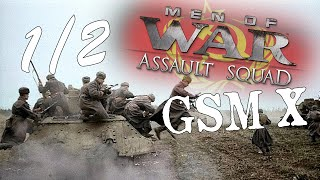 Men of War: Assault Squad: GSM X - Soviet Trench Assault Part 1/2