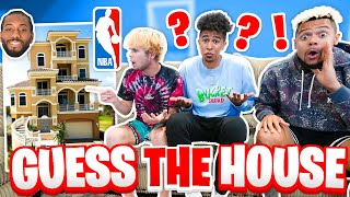 2HYPE Guess That NBA Players House!