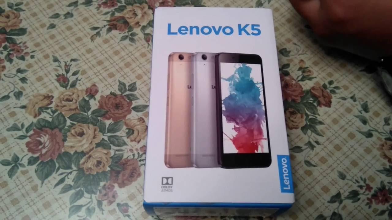 Lenovo K5 Accesorios y Funciones Basicas.