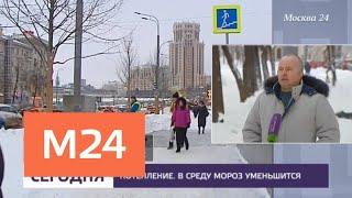 В Москве установилась настоящая зимняя погода - Москва 24