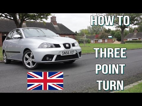 How To Do A Three Point Turn Or Turn In The Road - UK Driving Test Manoeuvre