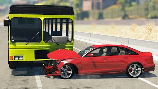 STREET RACING CRASHES #23 - BeamNG Drive | CRASHdriven