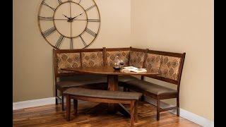 Amish East Port Kitchen Dining Nook Set