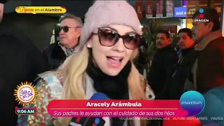 Aracely Arámbula responde hala…