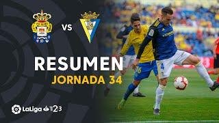 Resumen de UD Las Palmas vs Cádiz CF (0-3)