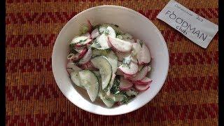 Салат с редиской и огурцом: рецепт от Foodman.club