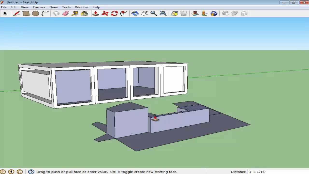How to use the offset tool in Google SketchUp - YouTube