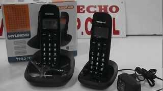 Телефон с 2мя трубками.