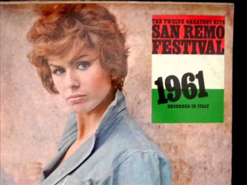 AL DI LA cantata da Lys Assia, San Remo 1961