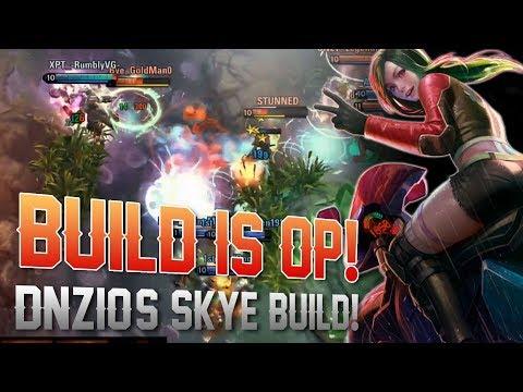 THIS BUILD IS OP! Vainglory 5v5 Ranked - Skye |Wp| Top Lane Gameplay
