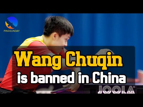 Wang Chuqin Is Suspended In China