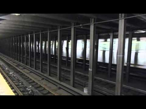 FASTRACK IND 8th Ave Line: R46 A Train at 50th St-8th Ave (Late Night)