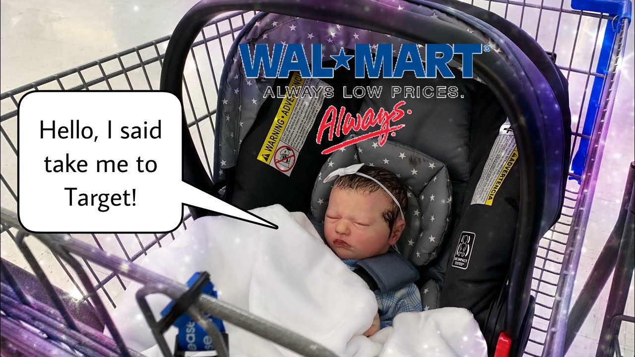 Reborn Baby Doll goes Shopping | Fake Baby That Looks So ...