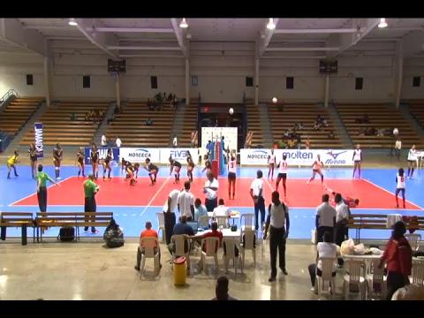 Volleybal live vanuit Jamaica : Suriname - Trinidad