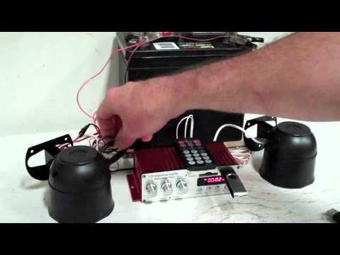 Double Trouble Electric Horn Kit by Boom Blasters