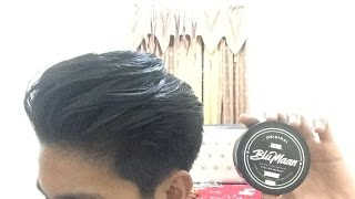 TIPS DAN CARA MENGGUNAKAN CLAY / WAX , HAIR PASTE  ( pre styler + blowdry hair )