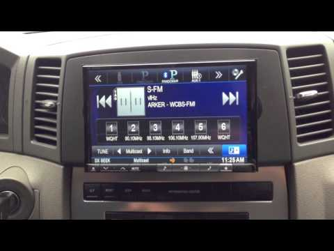 2006 Jeep Grand Cherokee Alpine INE-Z928 HD 8-inch Double Din SiriusXM And Bluetooth Hands Free