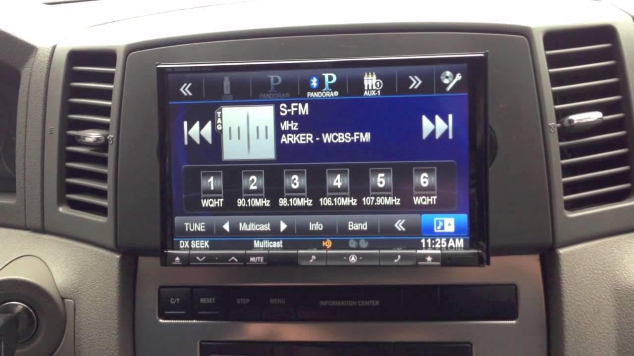 2007 Jeep Commander Radio