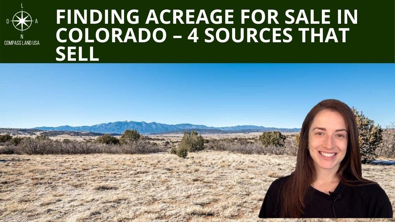 Finding Acreage for Sale in Colorado