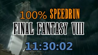 Final Fantasy VIII : 100% Speedrun in 11:30:02