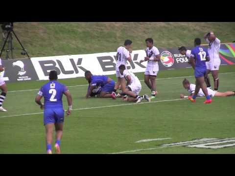 Toa Samoa U16 v's NZ U16
