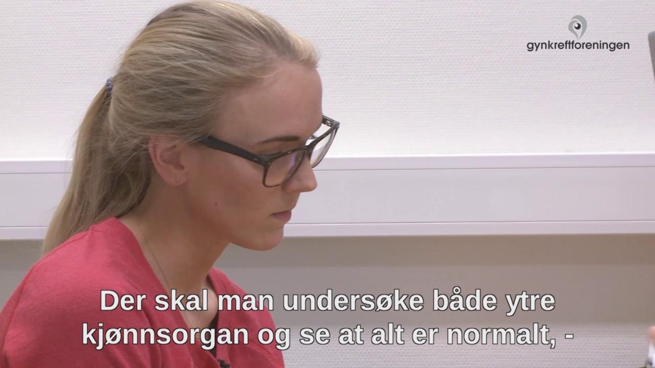gynekologisk undersøkelse video