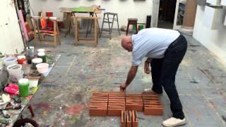 Pedro Calapez, Studies of broken line, Part 1 of 4