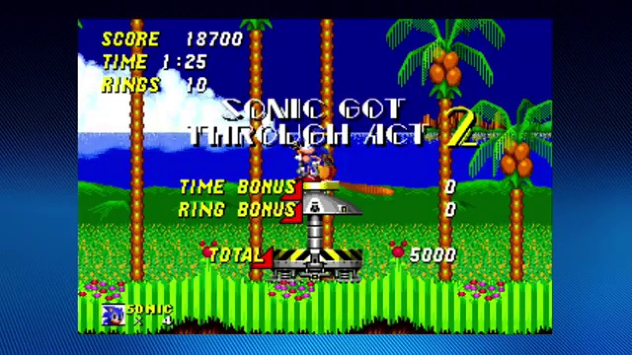 Sonic The Hedgehog 2 On Xbox One Gameplay Youtube