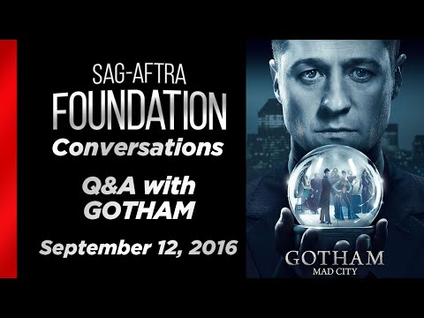 Conversations with Robin Lord Taylor and Cory Michael Smithof GOTHAM