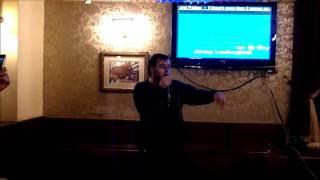 Mr P Rapper Karaoke - Ice Ice Baby / Vanilla Ice - 29-Apr-11