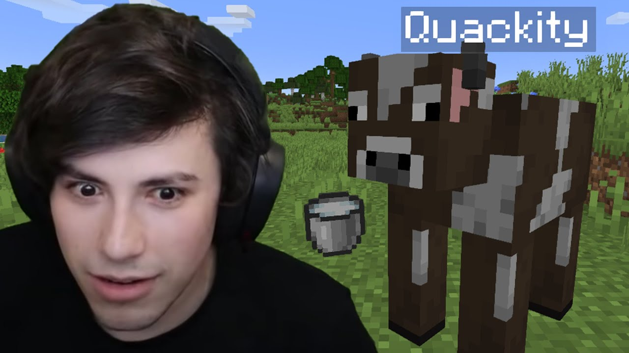 I Milked Quackity In Minecraft...