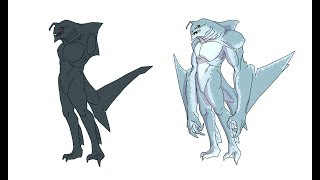 Speed Drawing Ben 10 Ultimate Ripjaws