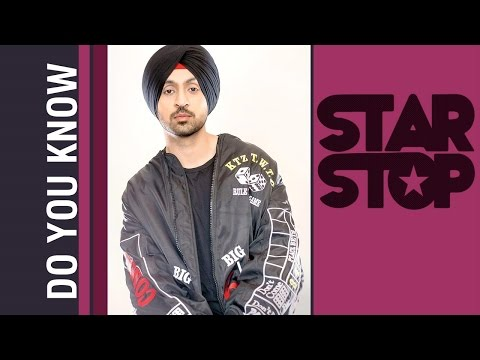 All About Diljit Dosanjh's New Song DO YOU KNOW? | B4U Star Stop
