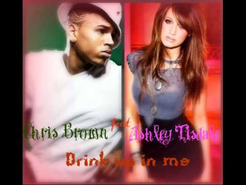 Ashley Tisdale feat Chris Brown Drink up in me (new song 2010)
