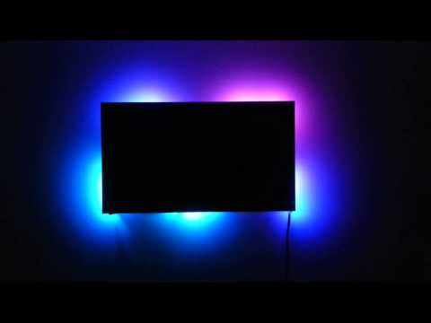 ambient back lighting for any screen